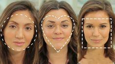 eb00ee9abe168 Como aplicar base de acordo com seu tipo de rosto - Beleza Maquiagem Para Rosto  Quadrado