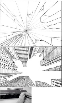 The perspective is amazing on this drawing!