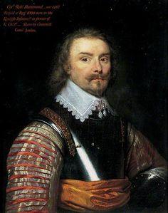 Colonel Robert Hammond (b.1587).  Cornelis Jonson van Ceulen.