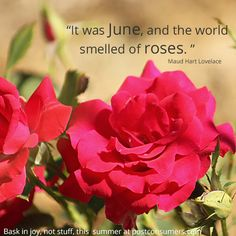 We hope you took time this summer to smell the #roses! #quotestoliveby
