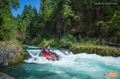 Dan Gavere con su Starboard Astro Stream. Quien dijo que en ríos no se puede practicar el Stand Up Paddle.