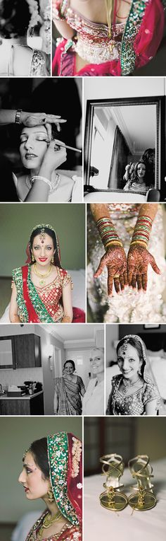 Love the collection of photo's put together. Represents the journey a girl is about to go upon..