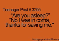 to my obnoxious loud siblings, sincerely I LIKE TO SLEEP IN BUT YOU GUYS ARE SCREAMING.