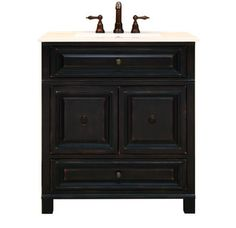 """Sunny Wood BH3021D 30"""" Wood Vanity Cabinet from the Barton Hill Collection.  $370"""