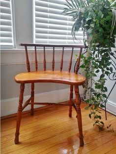 Vintage Antique Wooden Chair Stool Sears Roebuck | eBay- $29