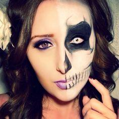 Amazing Halloween make-up