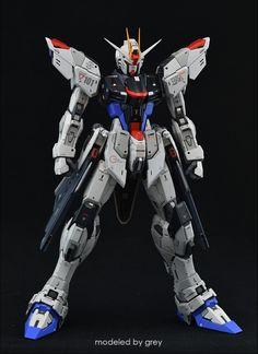 Gundam Seed, Diorama, Freedom, Sci Fi, Madness, Robot, Modeling, Miniature, Liberty