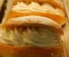 Bambas de nata (como las de pastelería)