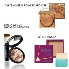 Summer products: bronze glow