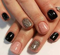Nails diy Wow gel nail designs I adore! Wow gel nail designs I adore! Fancy Nails, Love Nails, Pretty Nails, Classy Nails, Sparkle Nails, Glitter Nails, Diy Ongles, Gel Nail Designs, Nails Design