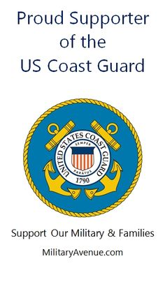 Proud Supporter of the US Coast Guard - created for http://facebook.com/MilitaryAvenue and yours to share