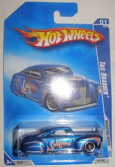 "HOT WHEELS 2009 '09 MODIFIED RIDES 157/190 BLUE W/ ORANGE ""HOT WHEELS CALIFORNIA COLLECTORS CLUB"" TAIL DRAGGER 01 OF 10 Hot Wheels http://www.amazon.com/dp/B002EDFZW4/ref=cm_sw_r_pi_dp_0Dpxwb0DY06B1"