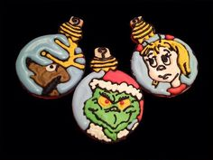 How the Grinch Stole Christmas Cookies. No recipe.