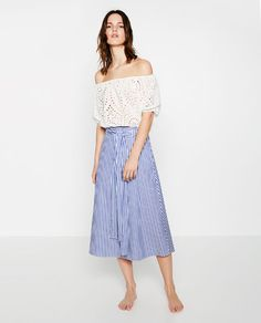 ZARA - NEW IN - CROP TOP
