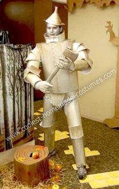 Coolest tin man diy halloween costume pinterest tin man diy original homemade tin man costume solutioingenieria Images