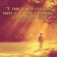 ... servir á Deus de Coração <3