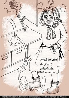 "Jagd auf Fliegen. ""Mord am Ku'damm"". Illustrierter Kriminalroman. / Hunting on housefly. ""Murder on the Kurfürstendamm"". Illustrated detective novel. www.gutenachtgeschichten24.com"