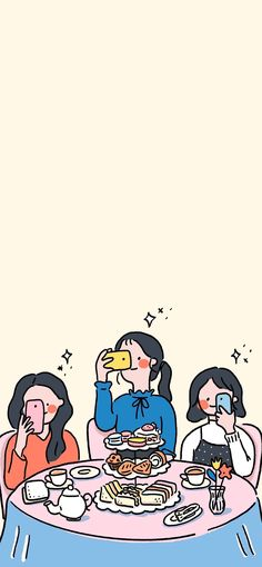 Ideas Art Wallpaper Backgrounds For 2020 Kawaii Wallpaper, Cute Wallpaper Backgrounds, Wallpaper Iphone Cute, Aesthetic Iphone Wallpaper, Wallpaper S, Aesthetic Wallpapers, Cute Cartoon Wallpapers, Animes Wallpapers, Images Gif