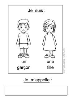 Presentation card - We publish good gifts idea Basic French Words, How To Speak French, Learn French, French Language Lessons, French Language Learning, French Lessons, French Teaching Resources, Teaching French, Teaching Kids