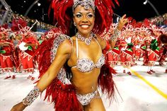Carnival in Brazil - Heavy embellishment and textures