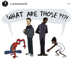 What are those t'challa shuri black panther tony stark Peter Parker iron man spiderman spider man