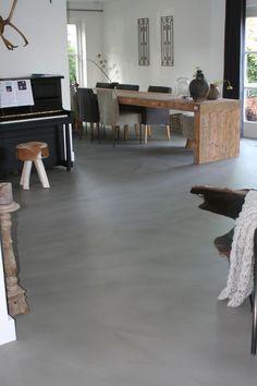 Vloer en Zo - Pandomo Floor, RAL 7039, Project Limmen.: