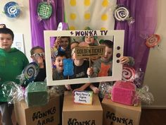 Willy Wonka Mike Tv Photo Booth