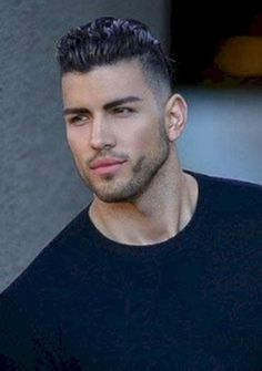Awesome Classic Hairstyles Ideas For Men 43 Classic Hairstyles, Boy Hairstyles, Beautiful Men Faces, Gorgeous Men, Cool Haircuts, Haircuts For Men, Short Hair Cuts, Short Hair Styles, Stylish Boys