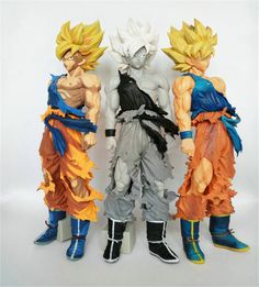 (34.67$)  Buy here  - Chanycore Anime Dragon Ball Z 34cm Dragonball Son Goku MSP Kakarotto Super Saiyan Battle Damage Action Figure Toys Dolls