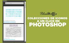 BlendMe.in Colecciones de iconos en Photoshop