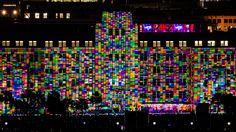 https://flic.kr/p/tdM7Zh | Vivid Sydney 2015 - Mechanised Colour Assemblage | In Sydney for Vivid Sydney 2015 #vividsydney