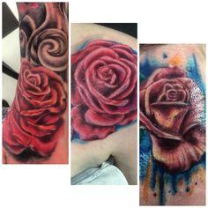 Rose tattoos I've done