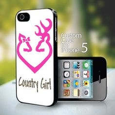 Browning Country Girl for iPhone 5 case