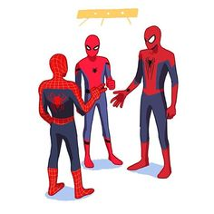 tres arañas iguales y distintas al mismo tiempo en el mismo lugar