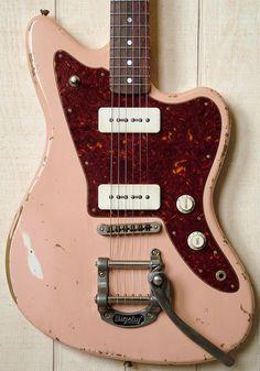 Fano Guitars Alt de Facto JM6 Shell Pink