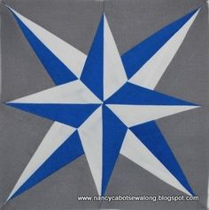 Moore About Nancy: Blazing Star quilt block