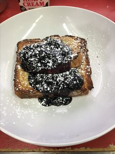 French Toast w/ Berry compote