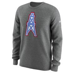 117c79046 Nike Alternate Logo QS (NFL Titans) Men s Long Sleeve T-Shirt Size. Kilani   ..  · Throwback Houston oilers
