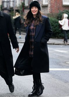 Jetting off in style: Liv Tyler donned a chic structured ensemble as she headed to the airport from her place in New York's West Village on Friday