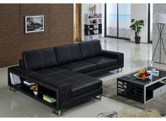 The Remmy leather sofa is one of the most popular designs across Europe and is perfect for an organized living room. It challenges conventional designs with its minimalist features and bookshelf storage adding style and class to the living room.