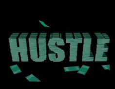 """""""Hustle""""-Titles. BBC 2004.  Emmy Nominated in 2007 for Outstanding Main Title Theme Music.  Kudos Productions."""