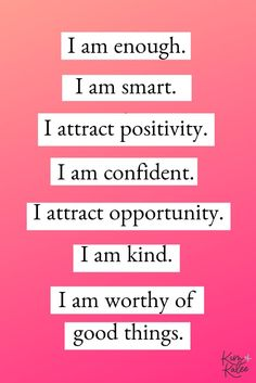 The Best Daily List of Positive Affirmations for Women - Kim and Kalee #quotestoliveby #dailyaffirmations #positivemindset #quotesinspirational #positivequotes