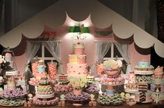stunning candy shop party