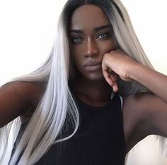Best Hair Color for Dark Skin:These hair colors will make you look and feel like a bombshell great color choices for light, medium and dark brown skin Hair Color For Dark Skin, Cool Hair Color, Dark Hair, Skin Girl, Blonde Hair Black Girls, Burgundy Hair, Brown Skin, Silver Hair, Pretty People