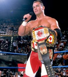"Lance Storm: WCW's belt collector. Agree fully with this post by droptoehold:    Lance Storm - WCW Thunder 8/2/2000  One of my favorite moments from WCW, where Lance Storm gave a rare, serious moment and renamed the Cruiserweight championship to the """"The Canadian 100 kilograms and under Championship"" (in accordance with the Canadian metric system)."