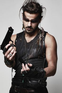 Fury Road Gloves  A bunch of jewelry  Tony Montemarano of Mursic  Shot by Cindil Ashley Photography  Ryder Makeup Labs