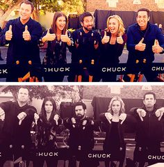 Chuck. This is one of my all-time favorite TV shows. Yes, it's over, but I now own all but the last season.