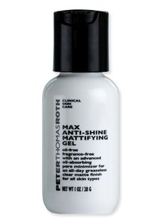 Peter Thomas Roth Anti-Shine Mattifying Gel- this stuff is the most magical product I've ever used, seriously.