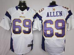 b48a35540 Nike NFL Elite Jerseys Minnesota Vikings Jared Allen White ,sale Nike NFL  Jerseys for new Nike NFL Jerseys shop,elite Nike NFL Jerseys wholesale,Nike  NFL ...