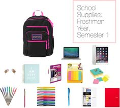 Covering all of my most essential school supplies for Freshmen year! College Club, Freshman Year, Study Tips, What Is Like, College Students, School Supplies, Helpful Hints, Blogging, Colleges